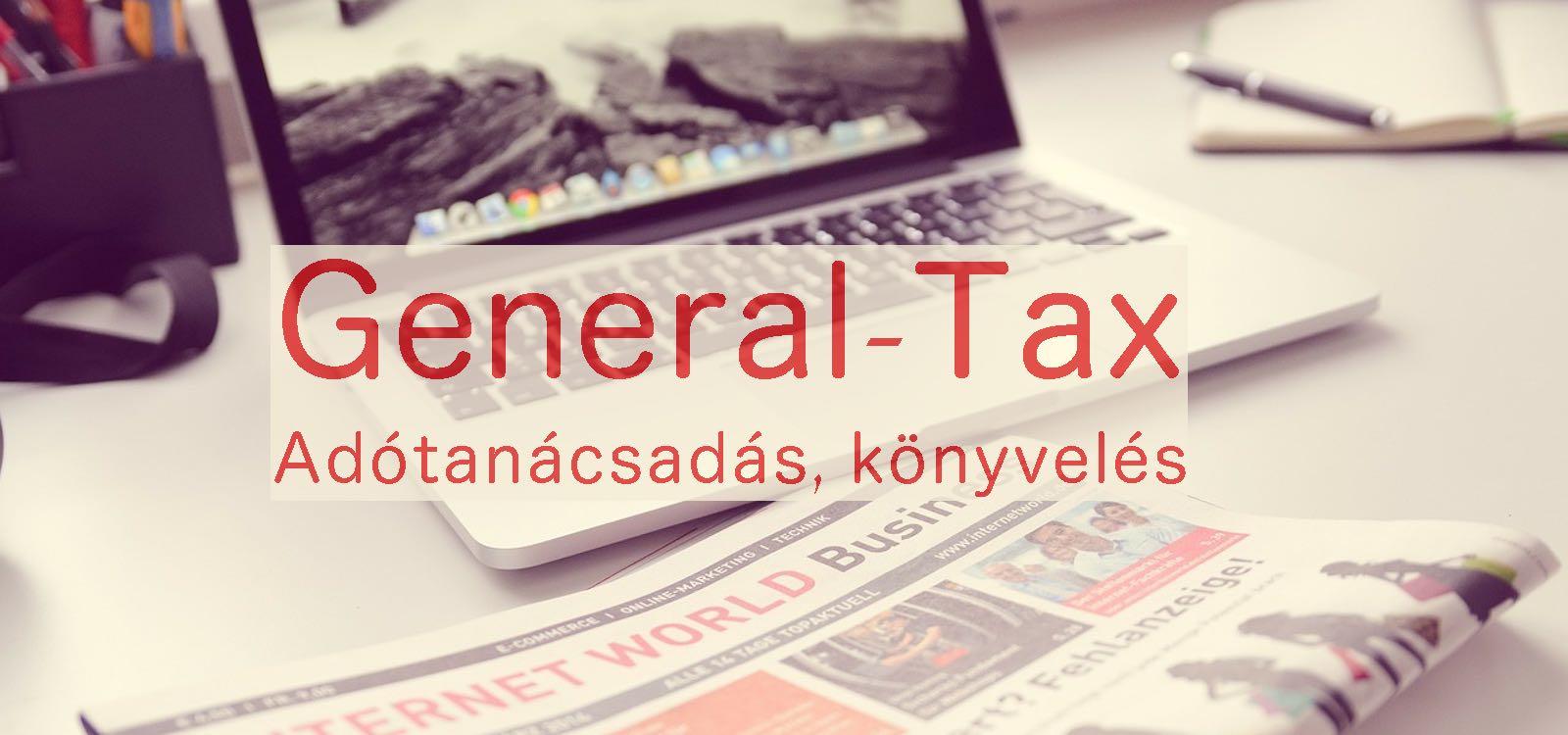 General-Tax – Adótanácsadás, könyvelés